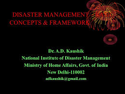 Info Home Design Concept Fr Disaster Management Basic Concepts