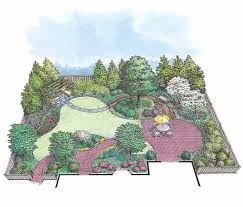 24 best landscape plans images on pinterest landscape plans
