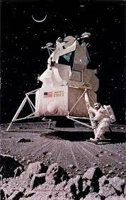 Is The American Flag Still Standing On The Moon The Improbable Bold History Of Space Concept Art U2013 How We Get To Next