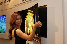 press on wallpaper lg display shows off press on wallpaper tv under 1mm thick cnet