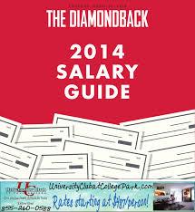 sales salary guide 2014 diamondback salary guide by the diamondback issuu
