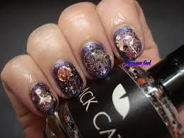 baroque fool halloween nails ahs coven
