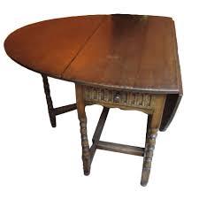 Drop Leaf Oak Table Antique Drop Leaf Oak Table Keils Antiques New Orleans Since