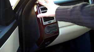 range rover dashboard how to remove the dash end panel on a range rover vogue youtube