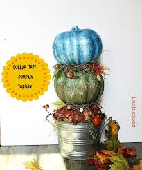 pumpkin topiary dollar tree pumpkin topiary debbiedoos