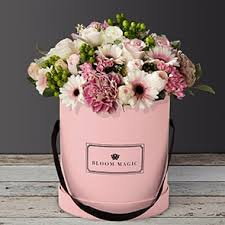 Bouquet Of Flowers In Vase Flower Delivery Dublin U0026 Ireland Bloom Magic