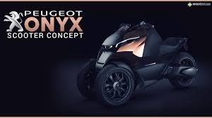 peugeot onyx peugeot onyx scooter concept