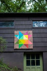 modern barn how i painted a beautiful modern barn quilt merrypad
