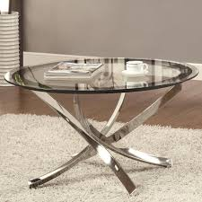 Glass And Metal Sofa Table Silver Metal Coffee Table Steal A Sofa Furniture Outlet Los