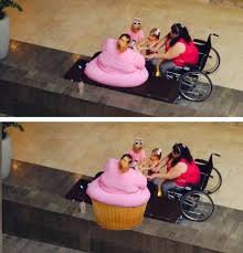 Fat Lady Meme - fat lady looks better as a cupcake real funny pictures
