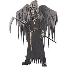 grim reaper costume winged grim reaper costume polyvore