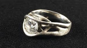 3d printed engagement ring 3ders org biomedical engineer says yes to 3d printed