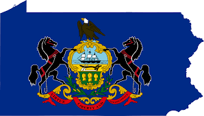 State Map Of Pennsylvania by File Flag Map Of Pennsylvania Svg Wikimedia Commons