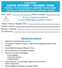 rincage pulsé chambre implantable recommandations pour les manipulation sur cci pdf