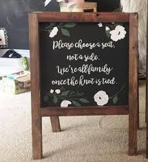 wedding seating signs seating signs heart and