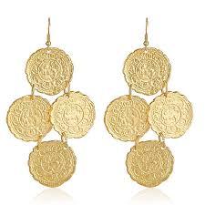 Marcia Moran Chandelier Earrings Kenneth Jay Lane Greek Goddess Earrings Hauteheadquarters