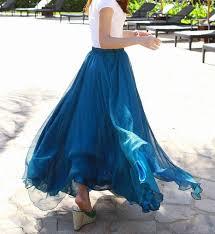 Long Flowy Maxi Skirt Best 20 Chiffon Maxi Skirts Ideas On Pinterest Diy Maxi Skirt