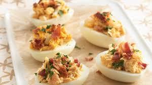 seafood deviled eggs recipe bettycrocker