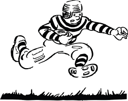 black and white football clipart free download clip art free