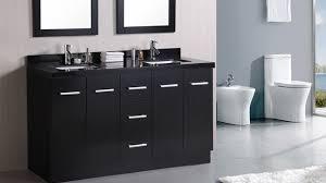 bathrooms with black vanities black bathroom vanity tjihome