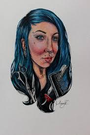 female portrait commission iii