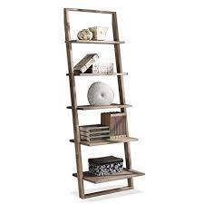 ladder bookcases amazon com