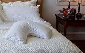 bed pillows for side sleepers the pillow bar side sleeper pillow