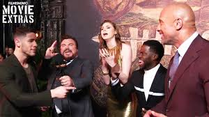 jumanji welcome to the jungle us premiere with cast
