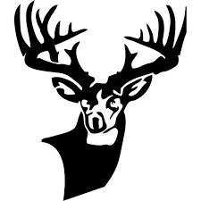 graphics for black and white whitetail deer graphics www