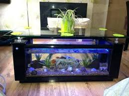 coffee tables attractive rustic fish tank coffee table home