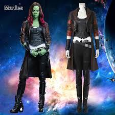 gamora costume aliexpress buy guardians of the galaxy 2 gamora