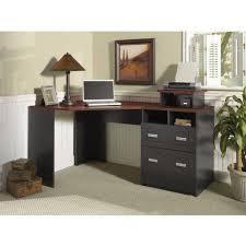 corner computer desk bush stockport black corner desk set rustic