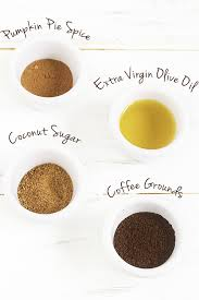 Lip Scrub diy pumpkin spice latte coffee lip scrub diary of an exsloth