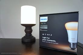 philips hue white ambiance light review and giveaway
