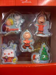 Charlie Brown Christmas Tree Decorations by The Peanuts Christmas Ornaments