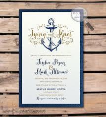 sle wedding announcements best 25 nautical wedding invitations ideas on