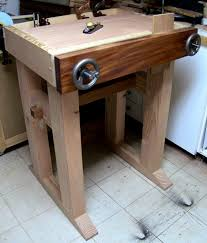 Woodworking Bench Height by Joinery Bench Completed The Renaissance Woodworker