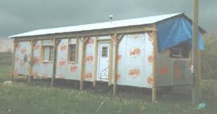 Insulation For Pole Barn Insulating Under A Mobile Home With Foam Board Diy Project
