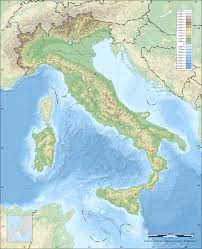Map Of Southern Italy by Topographic Map Of Italy Italy Pinterest Italy And