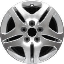honda odyssey wheels aly63885 honda odyssey wheel grey machined 42700shja91