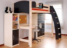 Plans For Full Size Loft Bed With Desk by Bedroom Cheap Full Size Loft Beds With Desk Underneath Futon