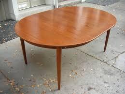 oval teak dining table dining room maintenance tips of scandinavian teak dining room
