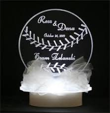 baseball wedding cake toppers baseball topper grande rios immediately thought of you