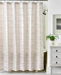 Neutral Shower Curtains Martha Stewart Collection Segment Stripe Shower Curtain Shower