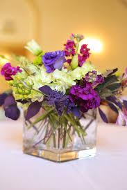 Purple Flowers Centerpieces by Traditional Purple Lime Green Wedding Centerpiece Utah Wedding