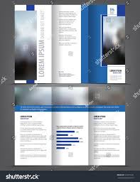 vector tri fold brochure template design stock vector 510777421