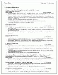 Resume Objectives Examples by Nursing Resume Objectives New Grad Rn Objective Staff Nurse Free D