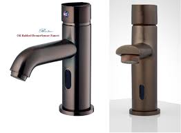 Bronze Faucets For Bathroom by Oil Rubbed Bronze Motion Sensor Faucets