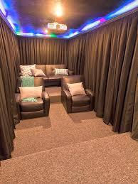 very small media room i do like it family entertainment area
