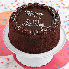 deliver birthday cake and balloons this is the ultimate chocolate birthday cake a high three layered